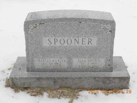 SPOONER, ELLA - Marquette County, Michigan   ELLA SPOONER - Michigan Gravestone Photos