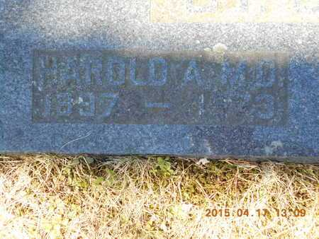 ST. JOHN, M.D., DR. HAROLD A. - Marquette County, Michigan | DR. HAROLD A. ST. JOHN, M.D. - Michigan Gravestone Photos