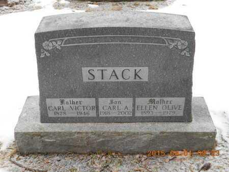 STACK, CARL VICTOR - Marquette County, Michigan | CARL VICTOR STACK - Michigan Gravestone Photos