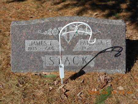 STACK, JAMES E. - Marquette County, Michigan | JAMES E. STACK - Michigan Gravestone Photos
