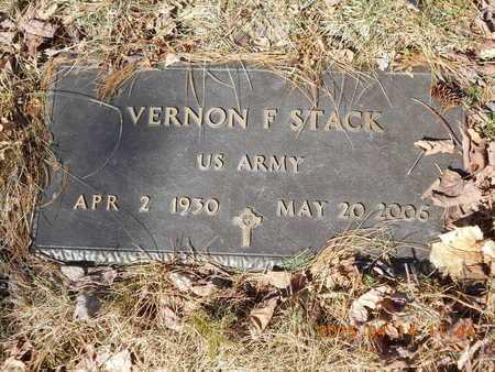 STACK, VERNON F. - Marquette County, Michigan | VERNON F. STACK - Michigan Gravestone Photos