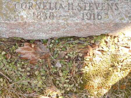 STEVENS, CORNELIA H. - Marquette County, Michigan   CORNELIA H. STEVENS - Michigan Gravestone Photos