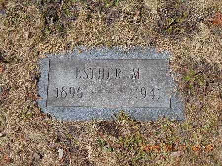 STILLMAN, ESTHER M. - Marquette County, Michigan | ESTHER M. STILLMAN - Michigan Gravestone Photos
