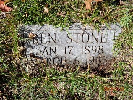STONE, BEN - Marquette County, Michigan   BEN STONE - Michigan Gravestone Photos