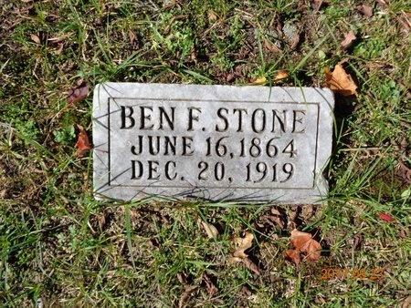 STONE, BEN F. - Marquette County, Michigan | BEN F. STONE - Michigan Gravestone Photos