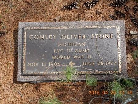 STONE, CONLEY OLIVER - Marquette County, Michigan   CONLEY OLIVER STONE - Michigan Gravestone Photos