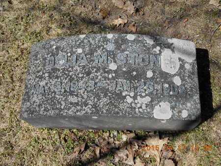 STONE, DELIA M. - Marquette County, Michigan   DELIA M. STONE - Michigan Gravestone Photos