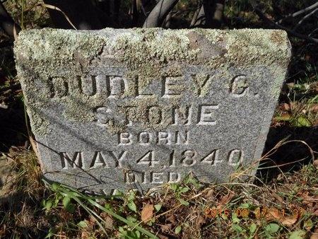 STONE, DUDLEY G. - Marquette County, Michigan | DUDLEY G. STONE - Michigan Gravestone Photos