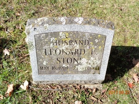STONE, LEONARD E. - Marquette County, Michigan | LEONARD E. STONE - Michigan Gravestone Photos