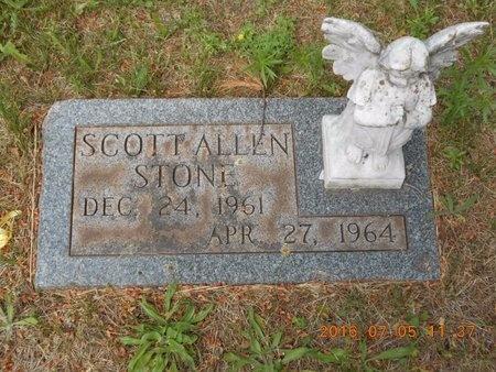 STONE, SCOTT ALLEN - Marquette County, Michigan | SCOTT ALLEN STONE - Michigan Gravestone Photos