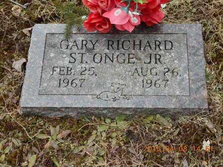 ST.ONGE, JR., GARY RICHARD - Marquette County, Michigan   GARY RICHARD ST.ONGE, JR. - Michigan Gravestone Photos