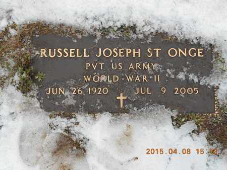 ST.ONGE, RUSSELL JOSEPH - Marquette County, Michigan | RUSSELL JOSEPH ST.ONGE - Michigan Gravestone Photos