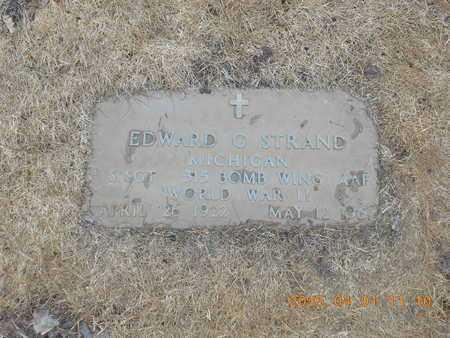 STRAND, EDWARD G. - Marquette County, Michigan   EDWARD G. STRAND - Michigan Gravestone Photos