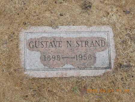 STRAND, GUSTAVE N. - Marquette County, Michigan | GUSTAVE N. STRAND - Michigan Gravestone Photos