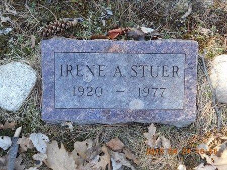 STUER, IRENE A. - Marquette County, Michigan | IRENE A. STUER - Michigan Gravestone Photos