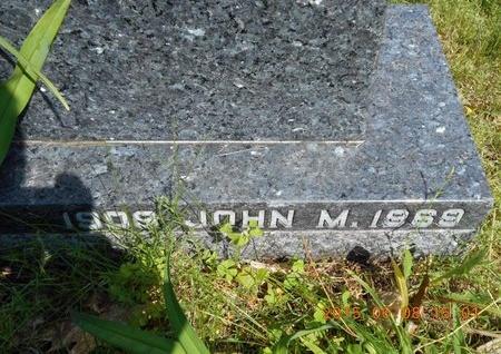 SULLIVAN, JOHN M. - Marquette County, Michigan   JOHN M. SULLIVAN - Michigan Gravestone Photos
