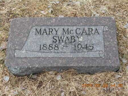 MCCARA SWABY, MARY - Marquette County, Michigan | MARY MCCARA SWABY - Michigan Gravestone Photos