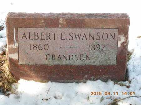 SWANSON, ALBERT E. - Marquette County, Michigan   ALBERT E. SWANSON - Michigan Gravestone Photos