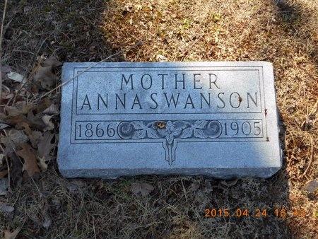 SWANSON, ANNA - Marquette County, Michigan   ANNA SWANSON - Michigan Gravestone Photos