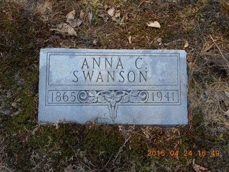 SWANSON, ANNA C. - Marquette County, Michigan   ANNA C. SWANSON - Michigan Gravestone Photos