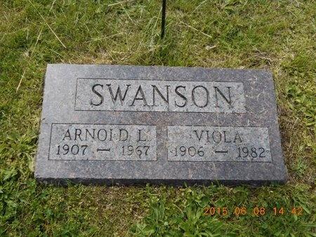 SWANSON, ARNOLD L. - Marquette County, Michigan | ARNOLD L. SWANSON - Michigan Gravestone Photos