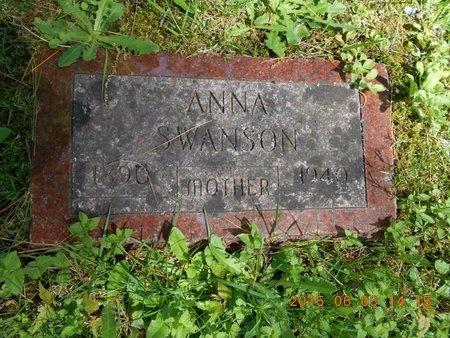 SWANSON, ANNA - Marquette County, Michigan | ANNA SWANSON - Michigan Gravestone Photos