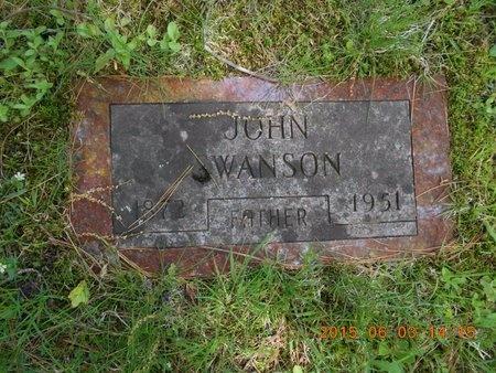 SWANSON, JOHN - Marquette County, Michigan   JOHN SWANSON - Michigan Gravestone Photos