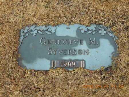 SYVERSON, GENEVIEVE M. - Marquette County, Michigan | GENEVIEVE M. SYVERSON - Michigan Gravestone Photos
