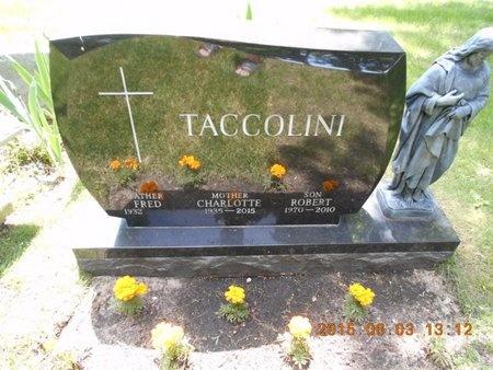 TACCOLINI, ROBERT - Marquette County, Michigan   ROBERT TACCOLINI - Michigan Gravestone Photos