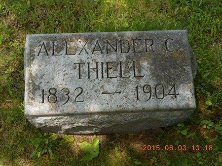 THIELL, ALEXANDER C. - Marquette County, Michigan | ALEXANDER C. THIELL - Michigan Gravestone Photos