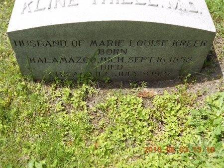 THIELL, ANNANDALE KLINE - Marquette County, Michigan | ANNANDALE KLINE THIELL - Michigan Gravestone Photos