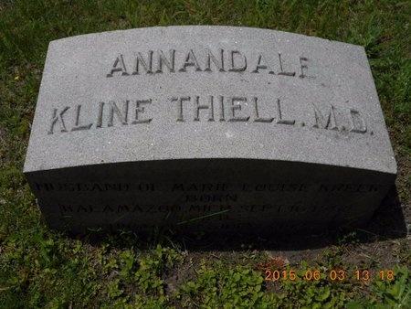 THIELL, M.D., ANNANDALE KLINE - Marquette County, Michigan   ANNANDALE KLINE THIELL, M.D. - Michigan Gravestone Photos