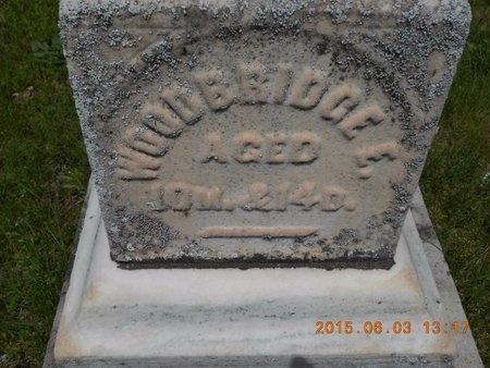 THIELL, WOODBRIDGE E. - Marquette County, Michigan   WOODBRIDGE E. THIELL - Michigan Gravestone Photos