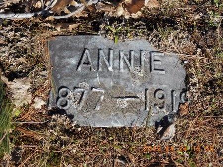 THOMAS, ANNIE - Marquette County, Michigan   ANNIE THOMAS - Michigan Gravestone Photos