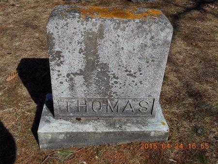 THOMAS, FAMILY - Marquette County, Michigan   FAMILY THOMAS - Michigan Gravestone Photos