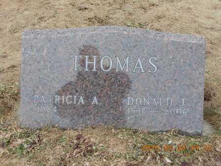 THOMAS, PATRICIA A. - Marquette County, Michigan | PATRICIA A. THOMAS - Michigan Gravestone Photos