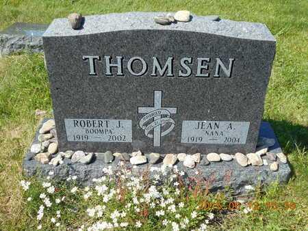 THOMSEN, JEAN A. - Marquette County, Michigan   JEAN A. THOMSEN - Michigan Gravestone Photos