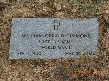TIMMONS, WILLIAM G. - Marquette County, Michigan | WILLIAM G. TIMMONS - Michigan Gravestone Photos