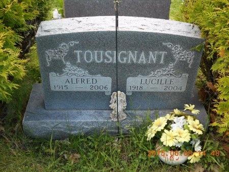 TOUSIGNANT, ALFRED - Marquette County, Michigan | ALFRED TOUSIGNANT - Michigan Gravestone Photos