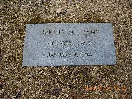 TRAMP, BERTHA O. - Marquette County, Michigan | BERTHA O. TRAMP - Michigan Gravestone Photos