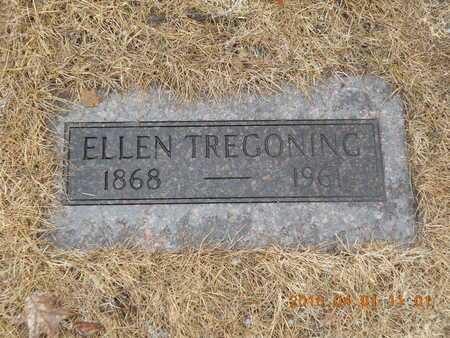 TREGONING, ELLEN - Marquette County, Michigan | ELLEN TREGONING - Michigan Gravestone Photos