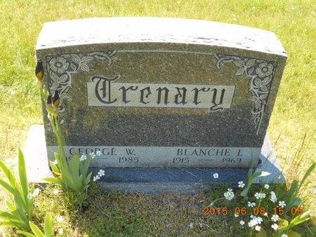 TRENARY, BLANCHE I. - Marquette County, Michigan | BLANCHE I. TRENARY - Michigan Gravestone Photos