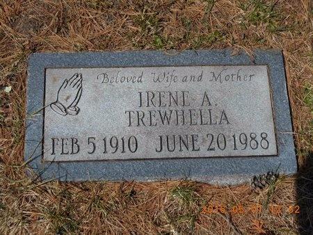 TREWHELLA, IRENE A. - Marquette County, Michigan | IRENE A. TREWHELLA - Michigan Gravestone Photos