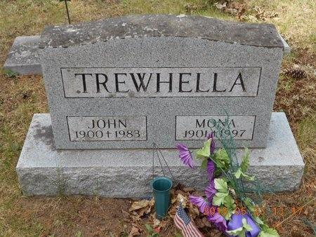 TREWHELLA, JOHN - Marquette County, Michigan | JOHN TREWHELLA - Michigan Gravestone Photos