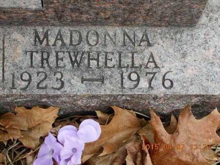 TREWHELLA, MADONNA - Marquette County, Michigan   MADONNA TREWHELLA - Michigan Gravestone Photos