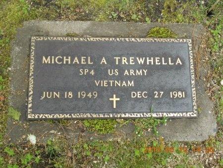 TREWHELLA, MICHAEL A. - Marquette County, Michigan   MICHAEL A. TREWHELLA - Michigan Gravestone Photos