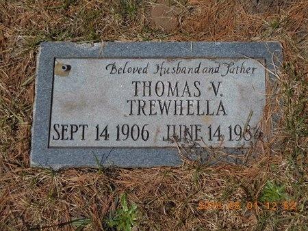 TREWHELLA, THOMAS V. - Marquette County, Michigan | THOMAS V. TREWHELLA - Michigan Gravestone Photos