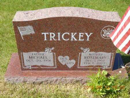 TRICKEY, ROSEMARY E. - Marquette County, Michigan | ROSEMARY E. TRICKEY - Michigan Gravestone Photos