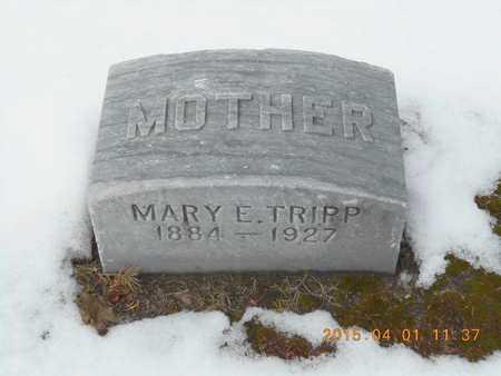 TRIPP, MARY E. - Marquette County, Michigan | MARY E. TRIPP - Michigan Gravestone Photos