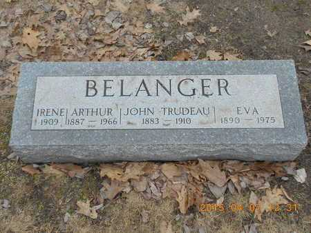 BELANGER, ARTHUR - Marquette County, Michigan | ARTHUR BELANGER - Michigan Gravestone Photos